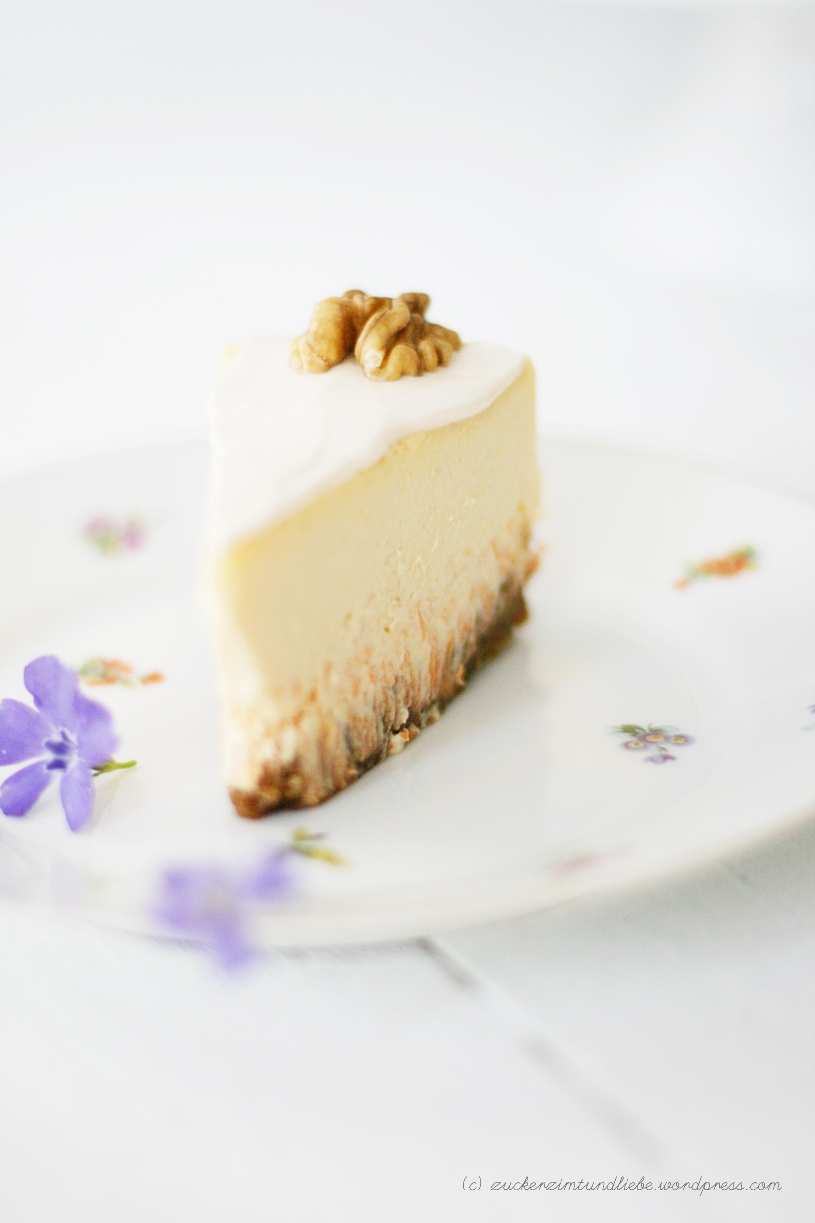 Möhren Cheesecake – Osterbunnies würden diesen Kuchen lieben ...