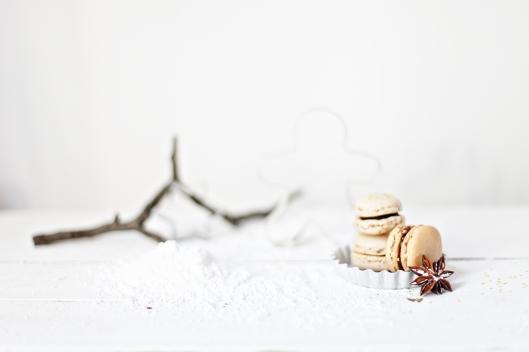 Rezept Macarons mit Lebkuchengeschmack Zucker Zimt und Liebe