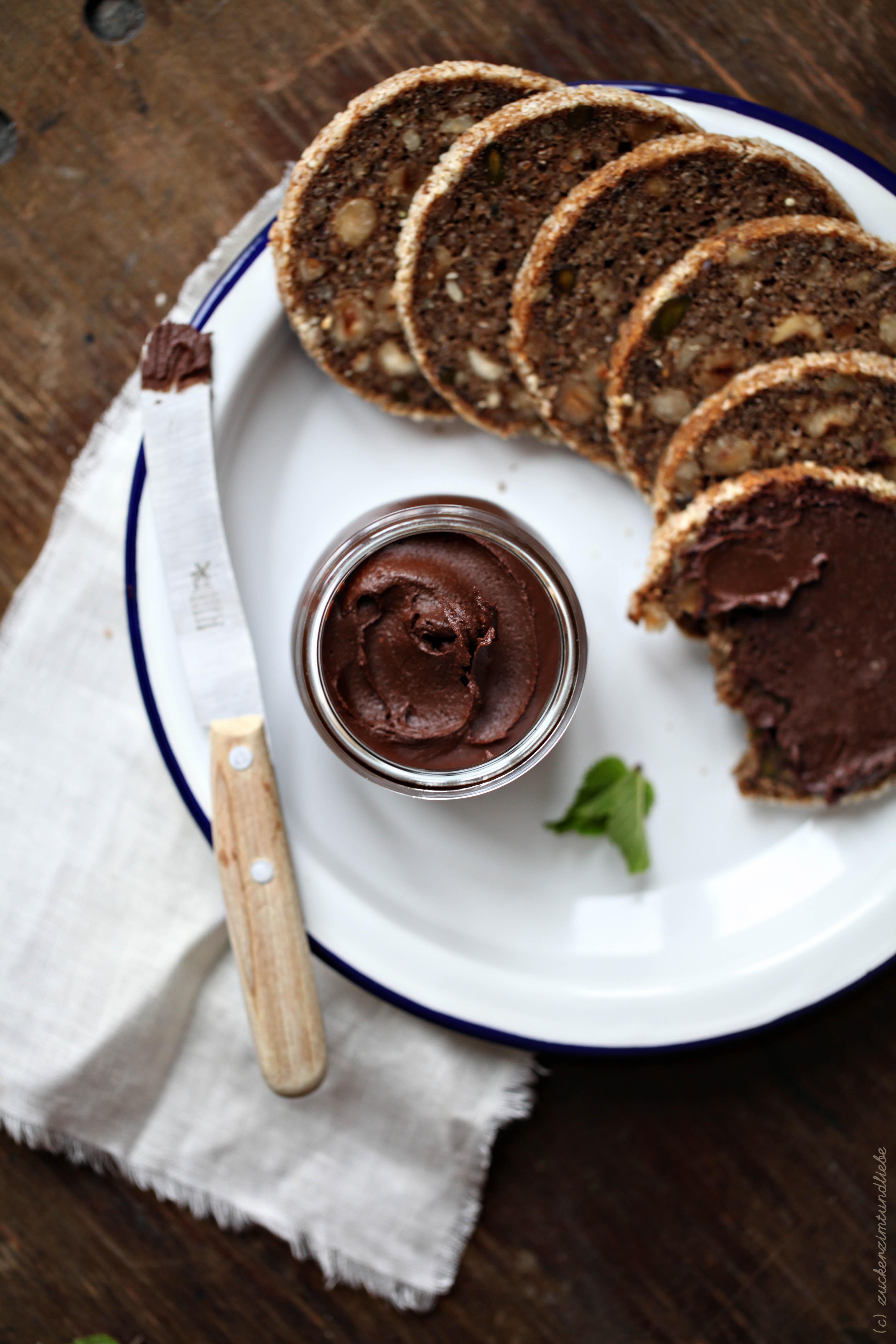 zuckerzimtundliebe schokoladenaufstrich minze