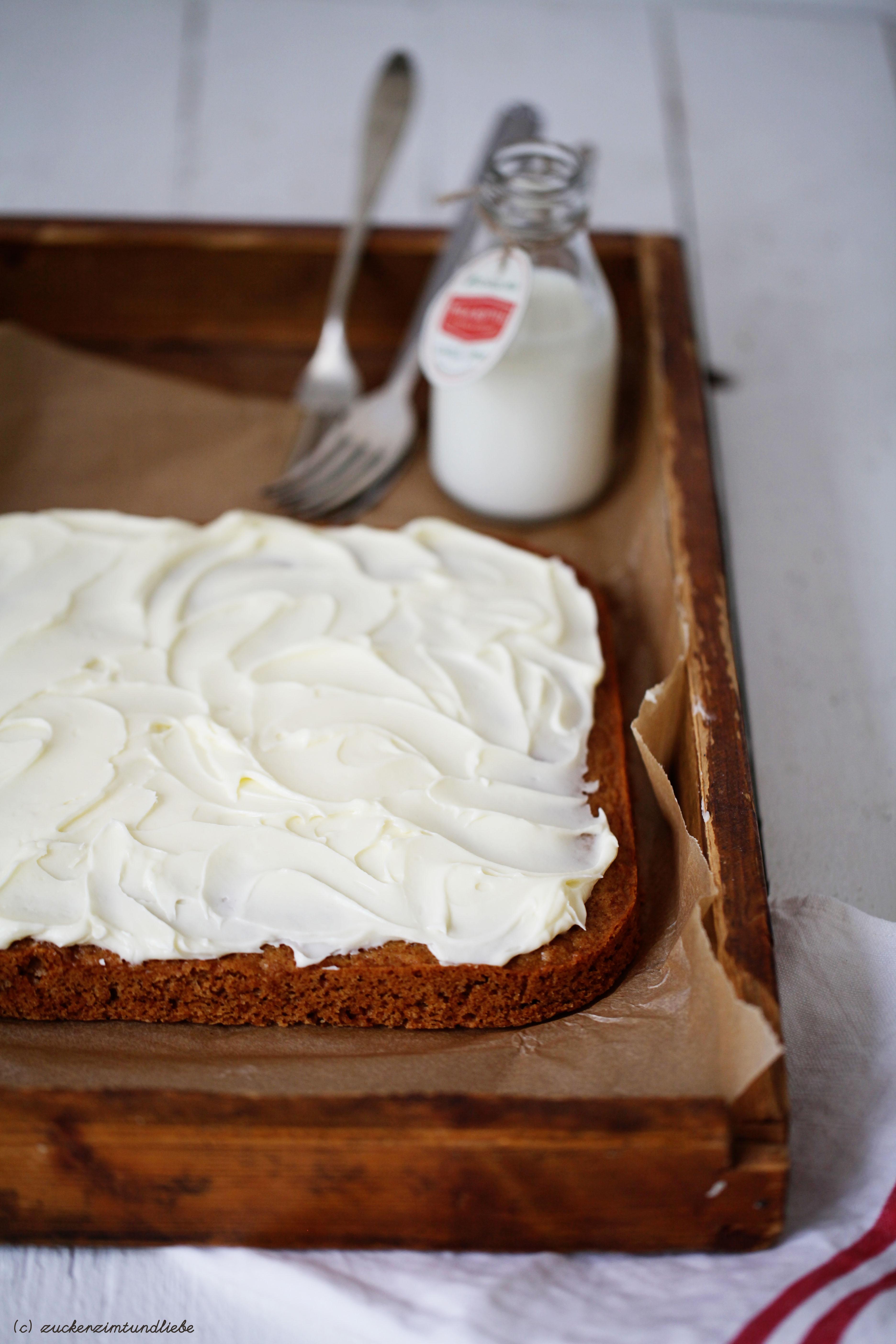 Kuchenrezept Weihnachten Spekulatius Zucker Zimt und Liebe