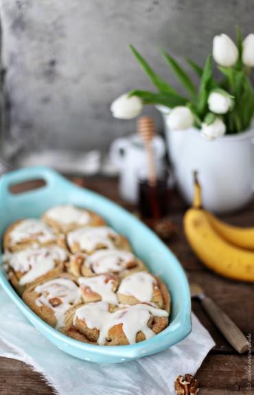 Rezept Zimtschnecken mit Banane Zuckerzimtundliebe gebacken