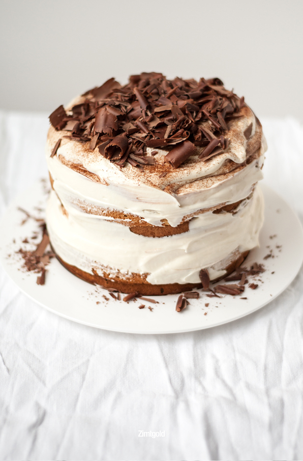 Zimtgold Zuckerzimtundliebe Tiramisu Torte Rezept