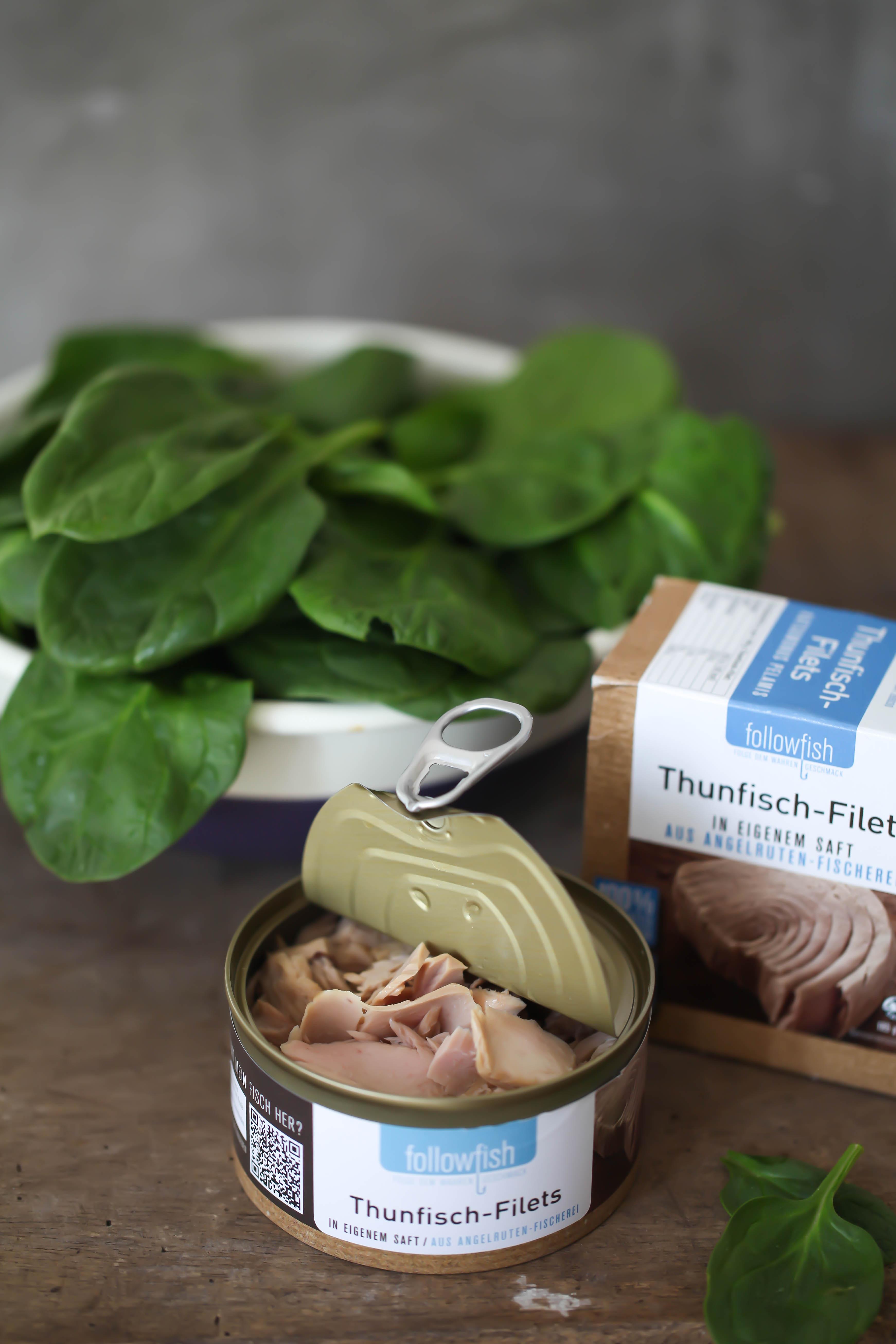 Zuckerzimtundliebe Stulle der Woche followfish Thunfisch Spinatpesto Ei