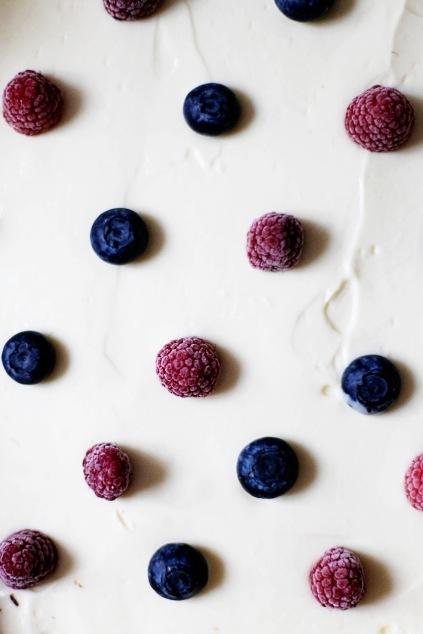 Zuckerzimtundliebe Brownie Cheesecake Polka Dot Himbeere Blaubeere 8