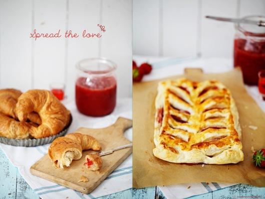 Zuckerzimtundliebe Rezept für Marmeladen Tarte mit Erdbeer Aperol Marmelade Konfitüre