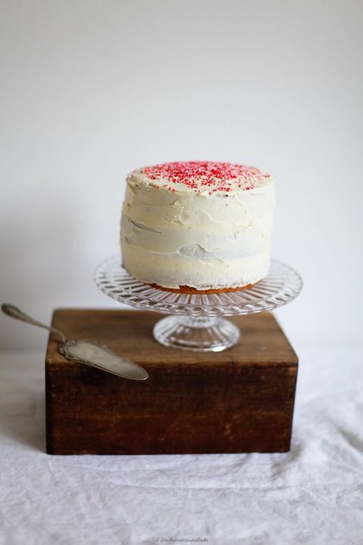 Rezept für einen Schachbrettkuchen mit Pastell Farben Zuckerzimtundliebe Foodblog