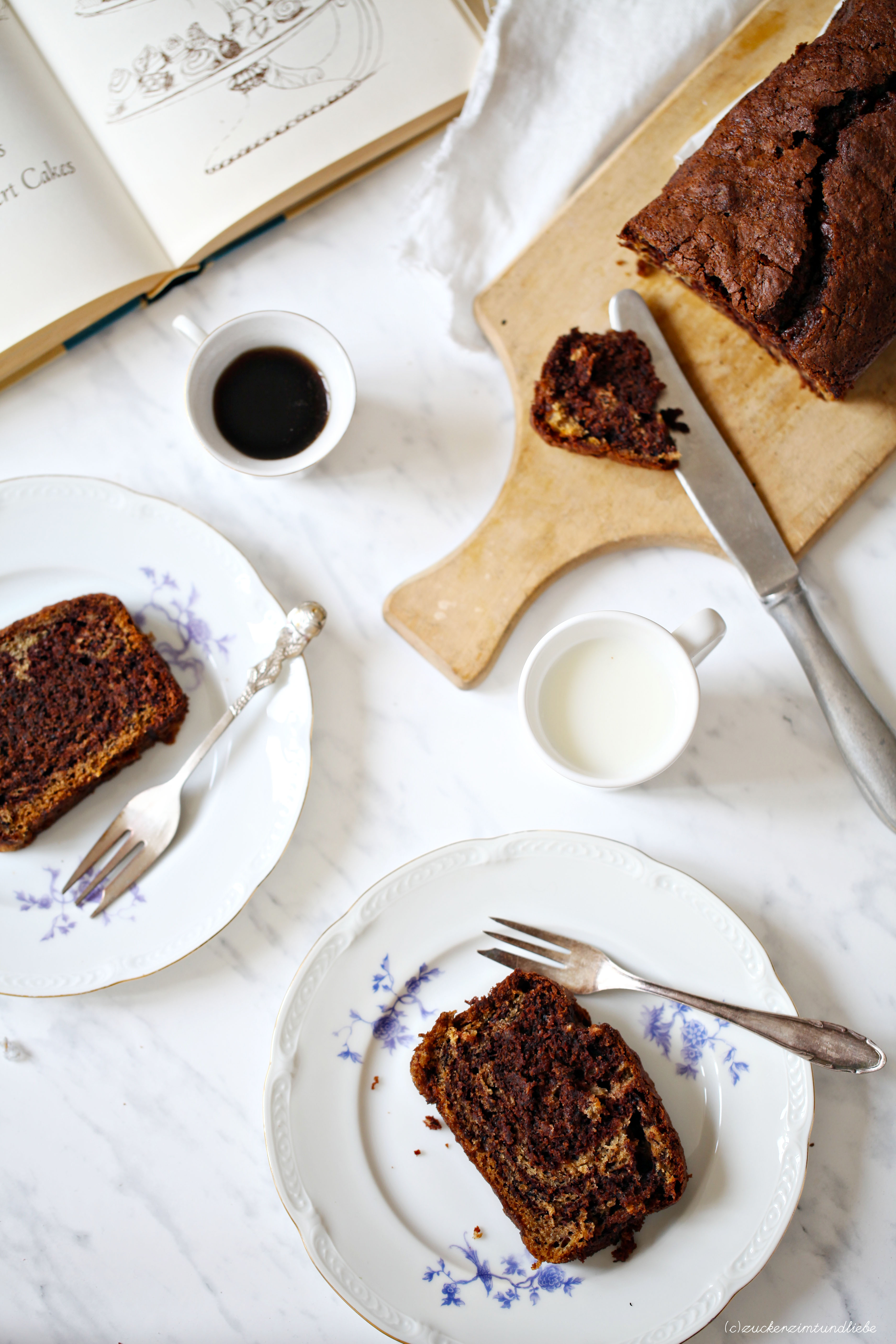 bananen schokoladenkuchen der besonders fluffigen art. Black Bedroom Furniture Sets. Home Design Ideas