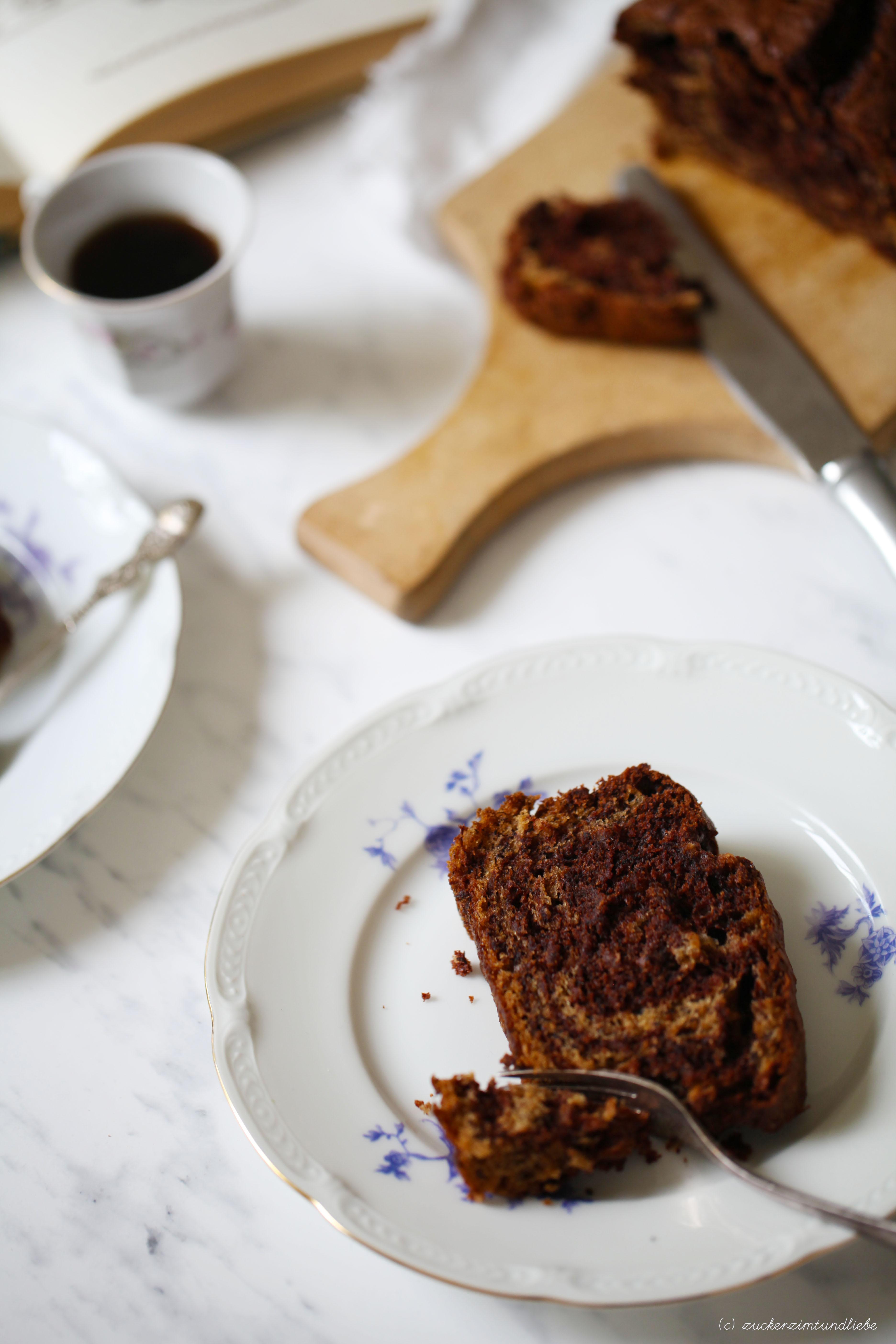 Bananen Schokoladenkuchen Der Besonders Fluffigen Art Zucker Zimt