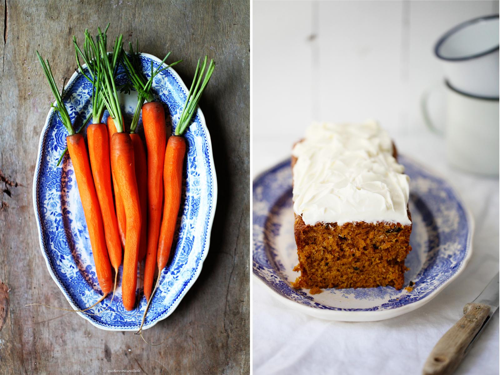 Zuckerzimtundliebe Möhrenkuchen Carrotcake Rezept Foodblog