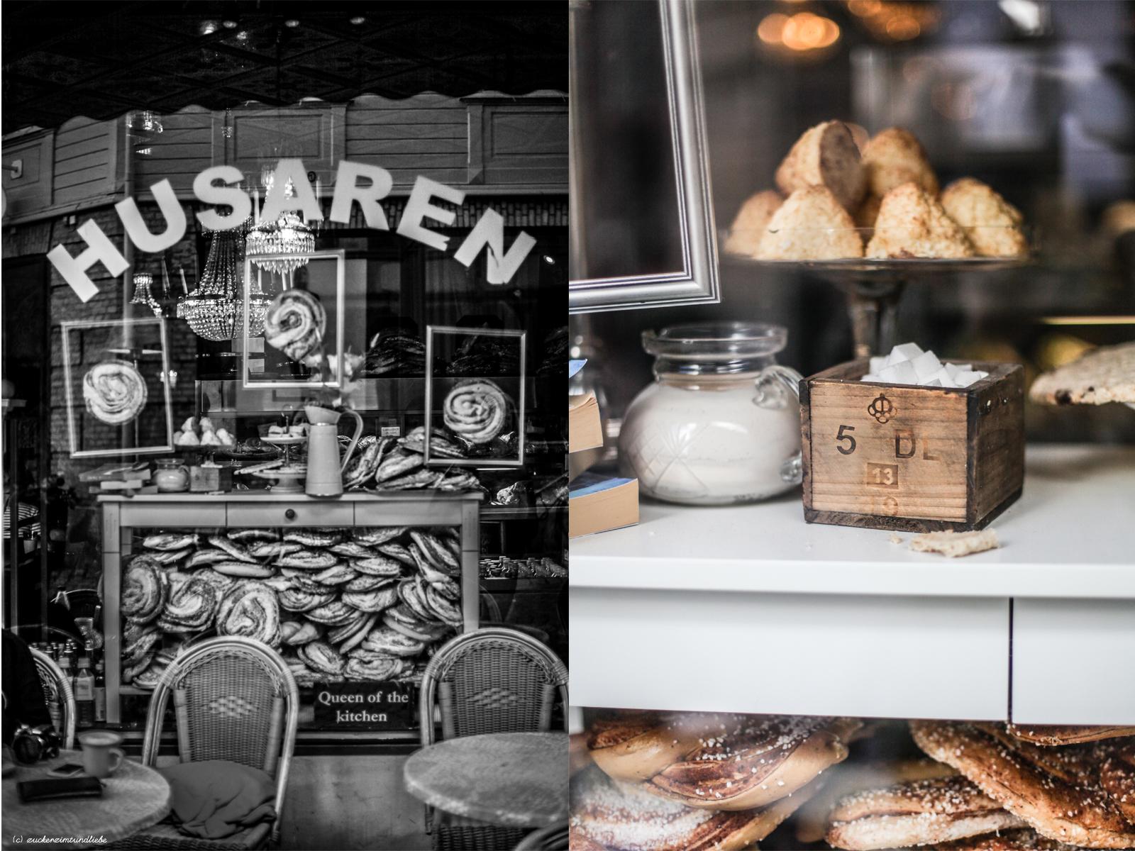 Zuckerzimtundliebe Göteborg Westschweden Husaren Cafe Zimtschnecken