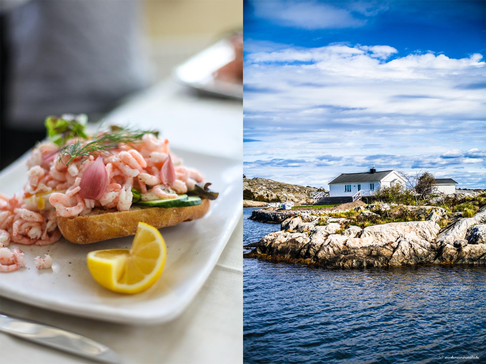 zuckerzimtundliebe westschweden schären Krabben Sandwich