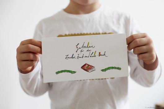 Zuckerzimtundliebe Gutschein Kochbuch Zucker Zimt und Liebe Weihnachten
