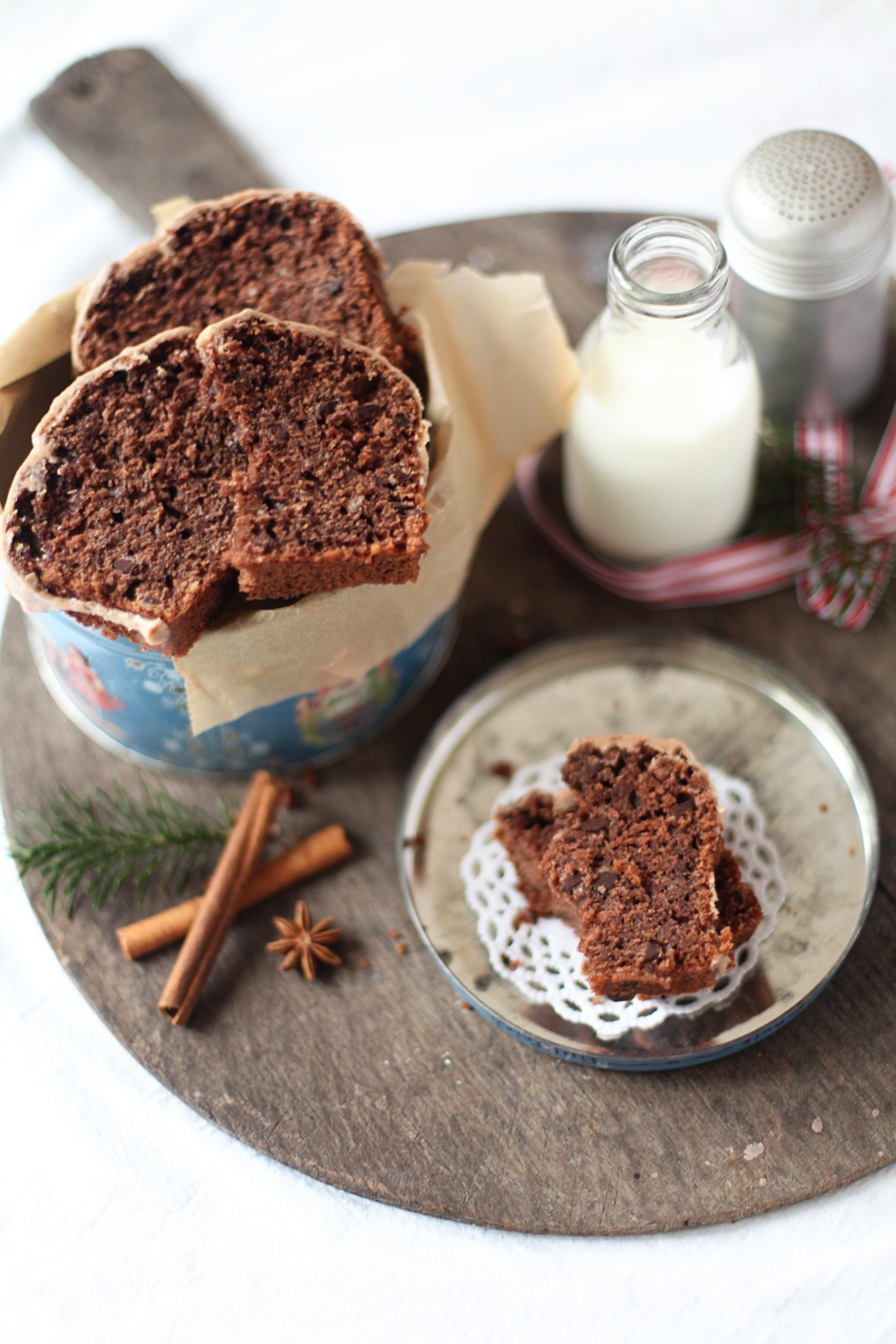weihnachtliche post aus meiner k che mit schokoladen gew rzkuchen leise rieselt das mehl. Black Bedroom Furniture Sets. Home Design Ideas