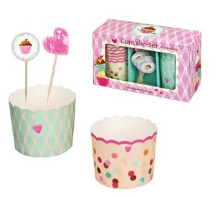 Spiegelburg Zucker, Zimt und Liebe Cupcake Muffen Set