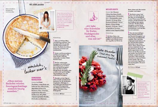 Edeka Mit Liebe 2014 Foodblogger Zucker, zimt und liebe Küchenchaotin Rezepte Risotto Rote Bete