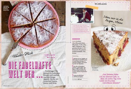 Edeka Mit Liebe 2014 Rezept Kirschkuchen Foodblogger