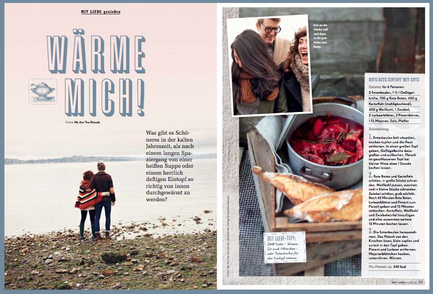 Edeka Mit Liebe 2014 Rote Bete Eintopf Wärmende Rezepte Januar