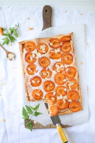 Rezept Aprikosentarte Mandeltarte Sommertarte Sommerkuchen Zuckerzimtundliebe apricot tart Fußball WM 2014 Zuckerzimtundliebe Foodblog