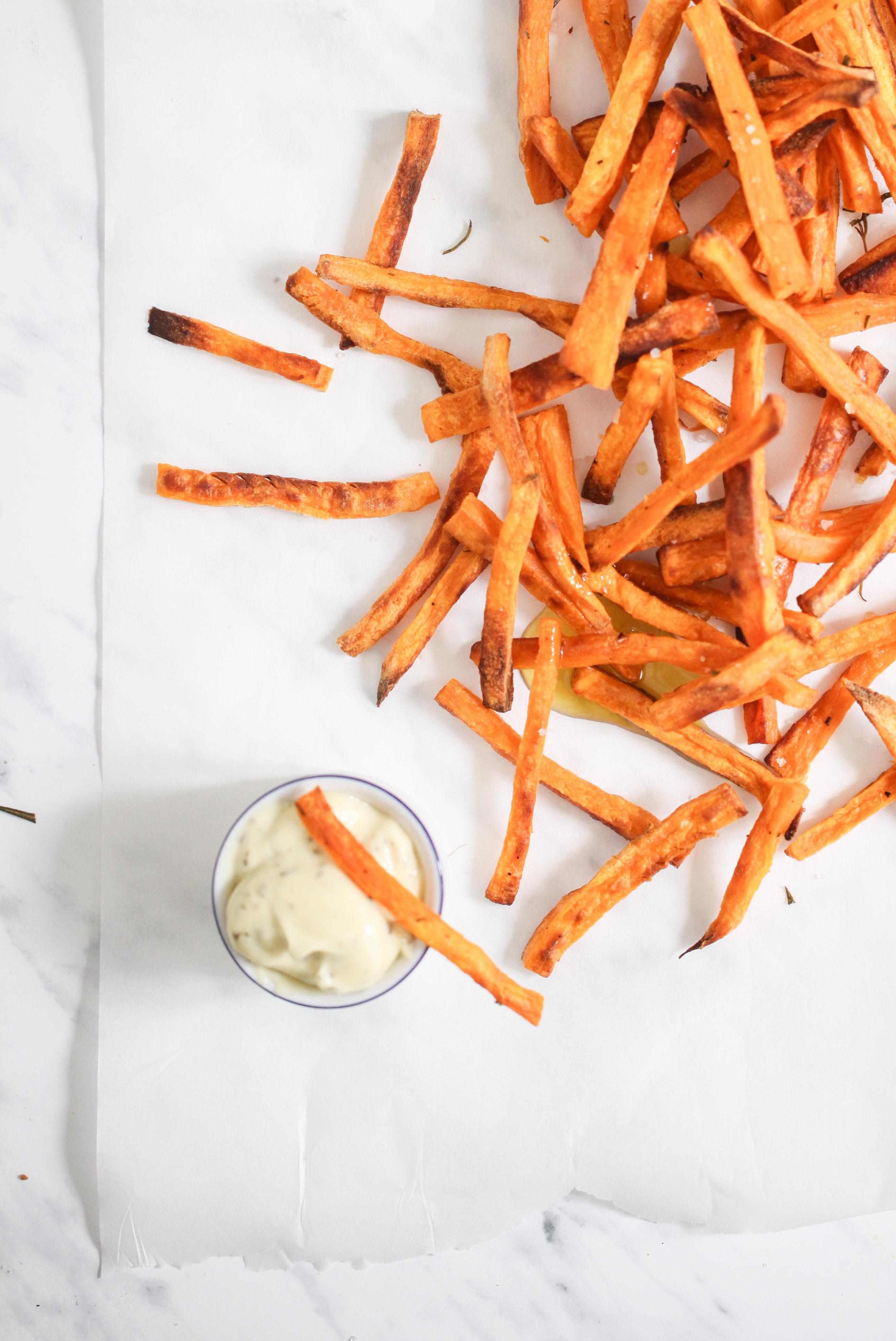 Süsskartoffel Pommes Sandwich Chip Butty Sweet potato recipe Rezept Stulle der Woche Zuckerzimtundliebe