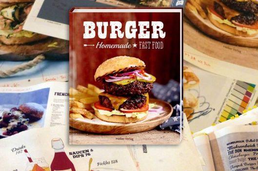 Hölker Verlag Burger Homemade Fast Food Oliver Brachat
