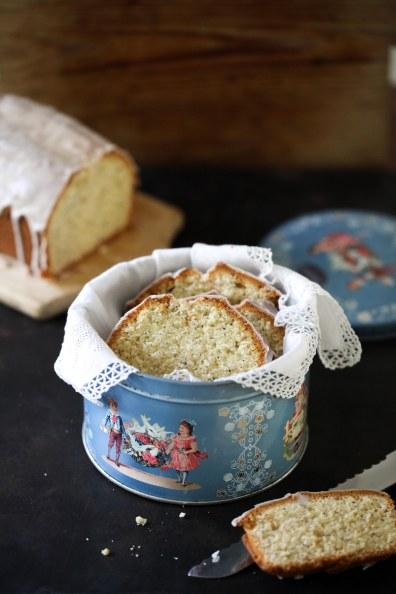 Zuckerzimtundliebe Backrezept Mohn Marzipan Kuchen Kastenkuchen Rührkuchen Wohnküchen