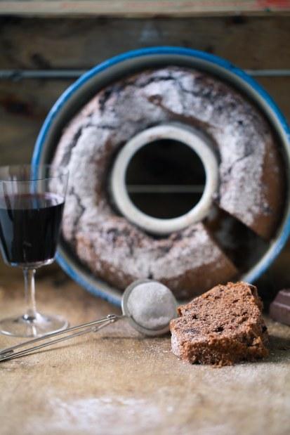 Zuckerzimtundliebe Rezept Backrezept Rotweinkuchen Schokoladenkuchen Napfkuchen Rührteig_-6