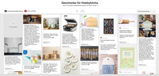 Pinterest Weihnachtsmarkt Zuckerzimtundliebe Geschenkideen für Hobbyköche