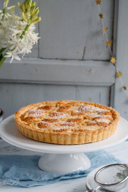Bakewell Tart Mandeltarte Frangipanetarte Marmeladentarte Rezept Zuckerzimtundliebe Foodblog