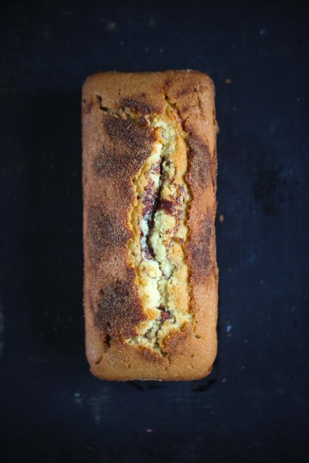 Rezept Zimtschneckenkuchen Zimtschnecke Rührkuchen Kastenkuchen Zuckerzimtundliebe Foodblog Backblog einfacher Kuchen zimtkuchen Cinnamon swirl loaf recipe
